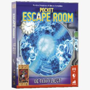 Pocket Escape Room De tijd Vliegt Nederlandstalig