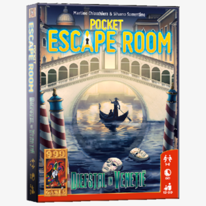 Pocket Escape Room Diefstal in Venetie Nederlandstalig