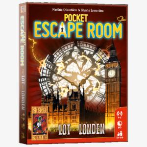 Pocket Escape Room Het lot van Londen Nederlandstalig
