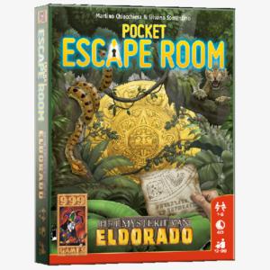 Pocket Escape Room Het mysterie van El Dorado Nederlandstalig