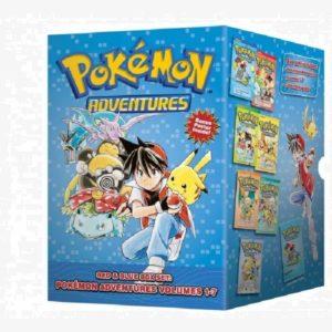 Pokemon Adventures Vol .01-07 Box Set