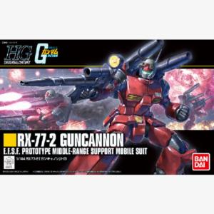 RX-77-2 Guncannon HGUC 1:144 scale model