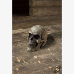 Small Skull - Foam - Bone - 9 cm