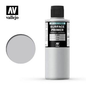 Surface Primer Acrylic Polyurethane 200 ml Grey
