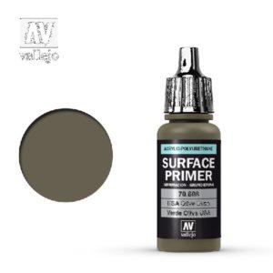Surface Primer Acrylic Polyurethane US Olive Drab