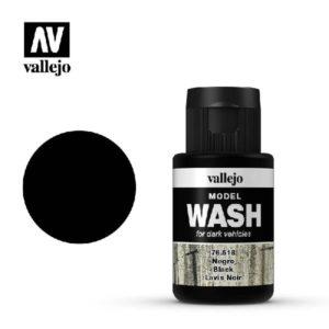 VA Wash Acrylic Color Black
