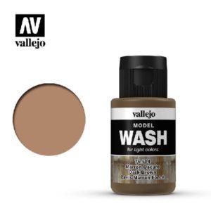 VA Wash Acrylic Color Dark Brown