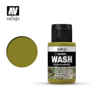 VA Wash Acrylic Color Dark Green