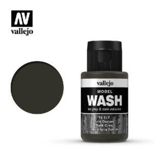 VA Wash Acrylic Color Dark Grey