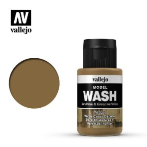 VA Wash Acrylic Color Dark Khaki Green