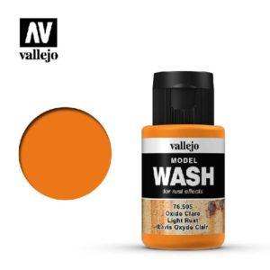 VA Wash Acrylic Color Light Rust