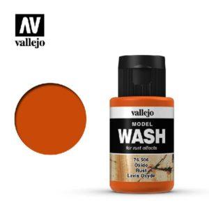 VA Wash Acrylic Color Rust