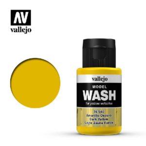 VA wash Acrylic Color Dark Yellow