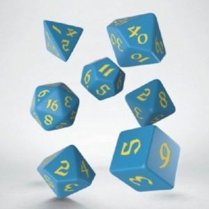 dobbelset Poly Classic Runic Blue/Yellow