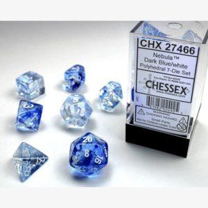 dobbelset Poly Nebula Blue/White