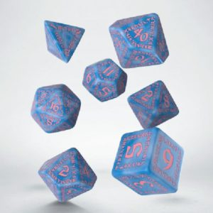 dobbelset Poly Runequest Turquoise/gold