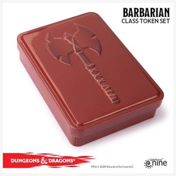 D&D Token set Barbarian
