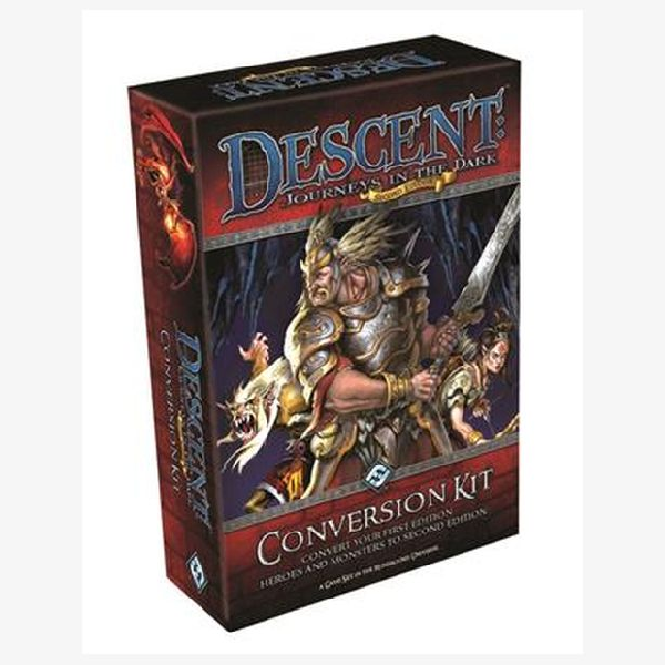 Descent Journeys in the dark Conversion kit 1st to 2nd edition