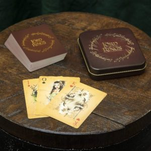 Lord of the Rings: Playing Cards with Storage Tin
