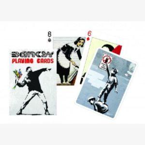 Speelkaarten / pokerkaarten Banksy