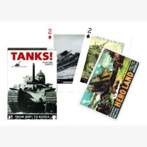 Speelkaarten / pokerkaarten Tanks