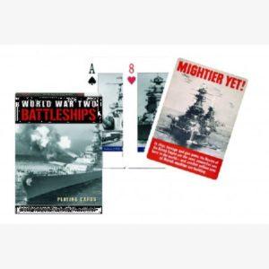 Speelkaarten / pokerkaarten WWII Battleships