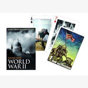 Speelkaarten / pokerkaarten World War II