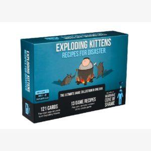 Exploding kittens: Recipes for Disaster exp. EN